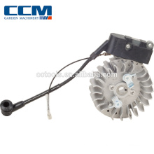 ignition coil and flywheel for Brush cutter: Displacement 41.5CC,2-Stroke brush cutter spare parts